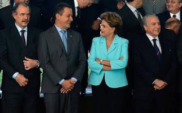 Rui e a presidente Dilma Rousseff.(Foto: Wilson Dias/Agência Brasil)
