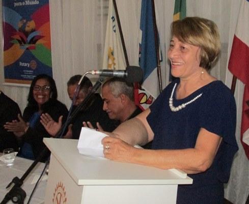 Senhora da Casa da Amizade, Helenice Sales Fahning prestou uma homenagem ao filho Luciano e ao saudoso esposo, Raimundo Fahning