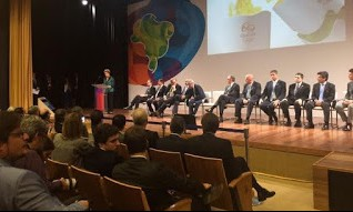 A presidente Dilma Rousseff, durante cerimônia nesta sexta-feira, 03