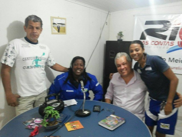 Diretores da ACC lembraram a história da instituição no jornal Bom Dia Cidades, na Rio das Contas FM