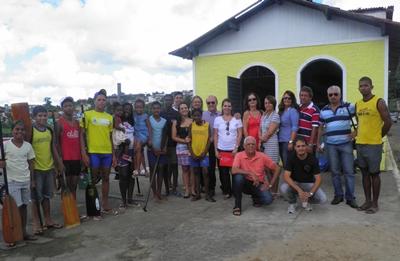 Rotarianos de Ubaitaba e os atletas da ACC