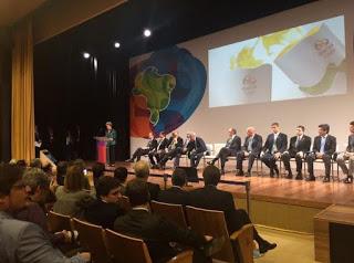 O prefeito de Itacaré e os secretários de finança e turismo participaram do evento, em Braslía
