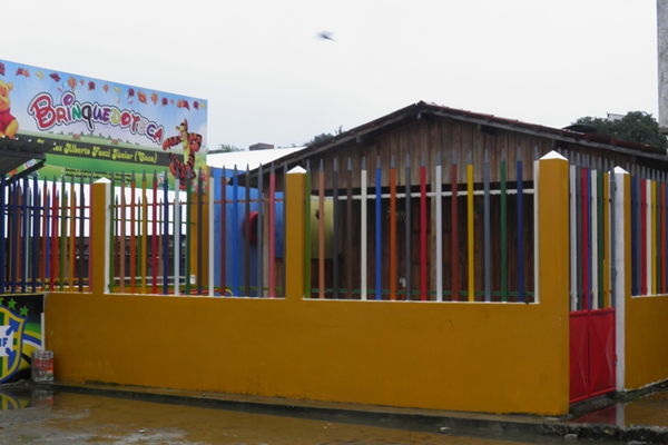 O espaço vai proporcionar lazer e cultura para as crianças do municipio