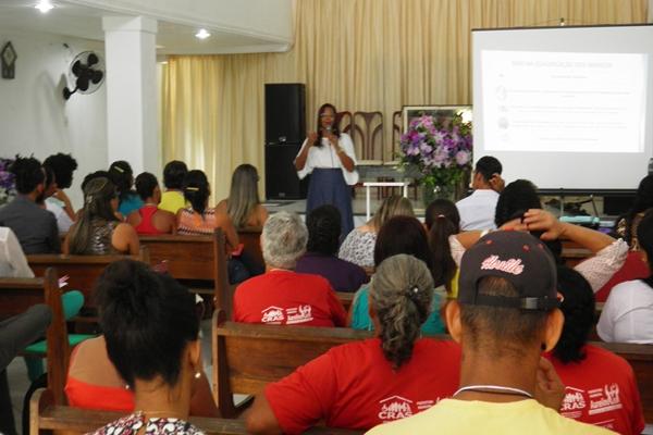 A palestrante explicou a importância da Conferência