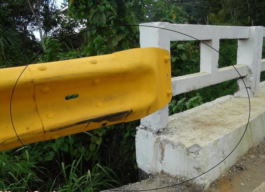 A ponte fica na distrito de taboquinhas