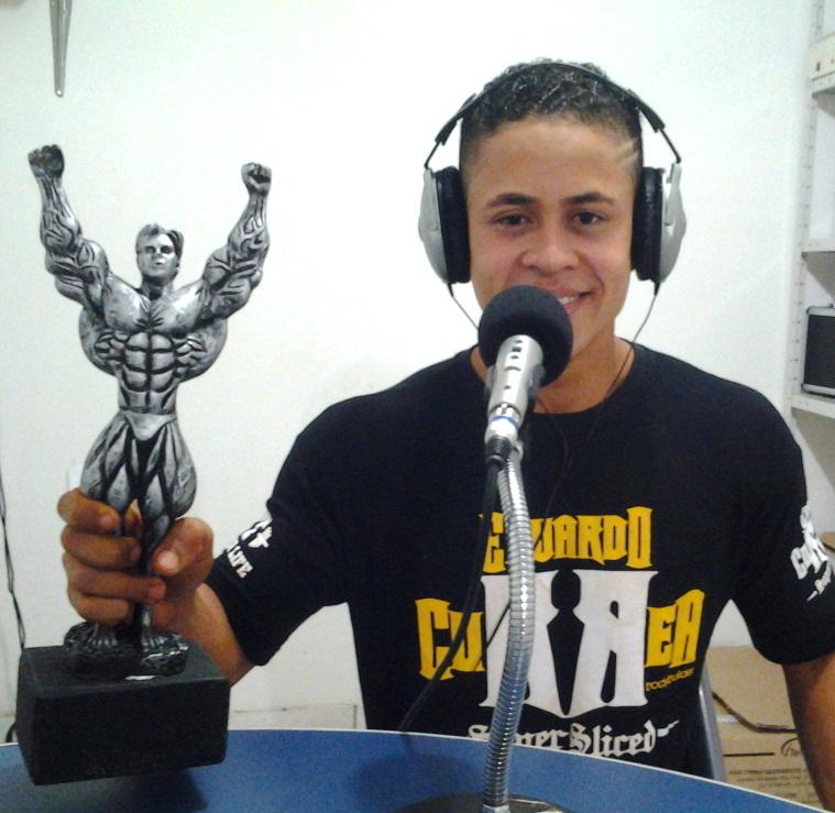 Alvino já vem colecionando troféus