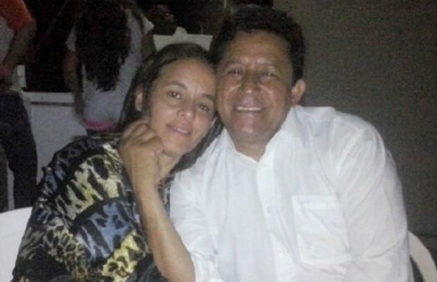 Prefeito e a mulher foram encontrados mortos em chácara; secretário confessou crime (Foto: Reprodução/ TV Anhanguera)