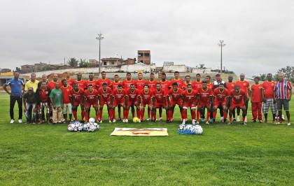 Seleção de Ibirapitanga estreia em casa no Intermunicipal (Foto: Rita Santos)