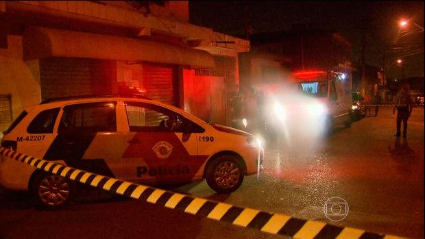 Testemunhas relatam que alguns atiradores perguntavam se as pessoas tinham antecedentes criminais; resposta definia morte (Foto: Reprodução/TV Globo)
