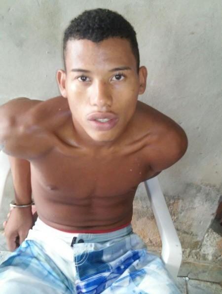 Gilmário Alves dos Santos, 22 anos, autor do latrocínio da estudante de Medicina Marianna Oliveira Teles, 22