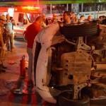 ITABUNA: ACIDENTE NA AV, JURACY MAGALHÃES DEIXA QUATRO FERIDOS