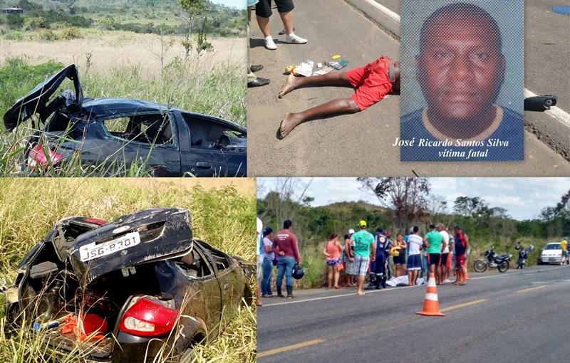 A vítima fatal José Ricardo Santos Silva, 41 anos, natural de Itapetinga,