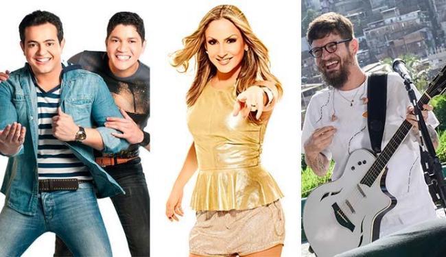 Henrique & Diego, Claudia Leitte e Saulo são algumas das atrações da festa