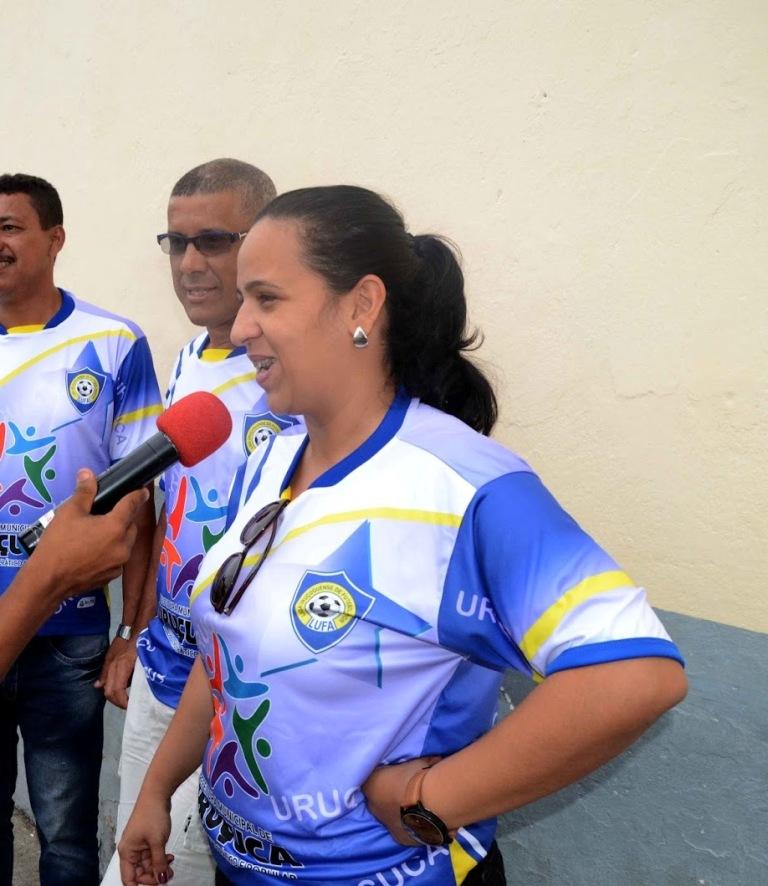 A prefeita Fernanda Silva (PT) sancionou uma lei que autoriza a prefeitura firmar convênio com a Liga Uruçuquense de Futebol Amador (LUFA)