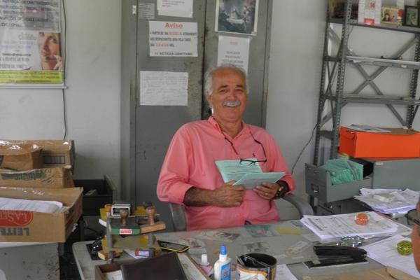 Valdemar deixa o cargo  de Coordenador da IV RETRAN de Uubaitabas,  depois de 14 anos