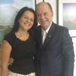 AURELINO  LEAL: PREFEITA REIVINDICA BENEFICIOS AO GOVERNO DO ESTADO