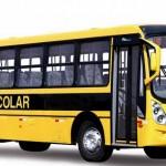 UBAITABA: SEM PASSARELA, PREFEITURA COLOCA ÔNIBUS PARA LEVAR ESTUDANTES