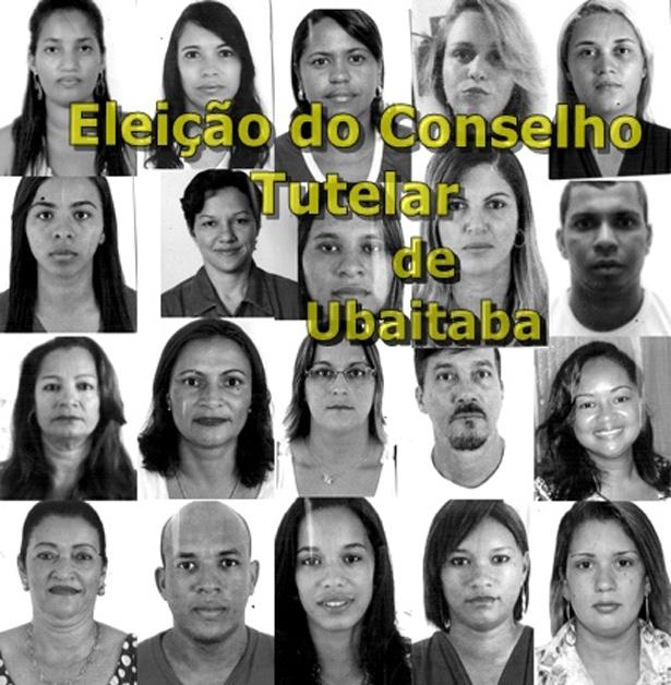 Esses são os candidatos aptos a receberem os votos dos ubaitabenses (imagem:ubaitaba.com)