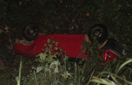 Veículo caiu em uma ribanceira na BR 101.