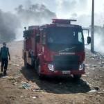 AURELINO LEAL: BOMBEIROS SÃO CHAMADOS PARA CONTER COMBUSTÃO NO LIXÃO