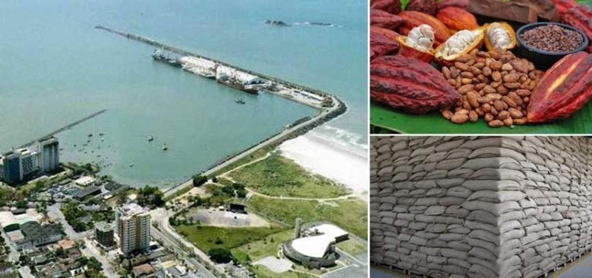 Porto de Ilhéus não realizava uma remessa desse porte há mais de 25 anos.
