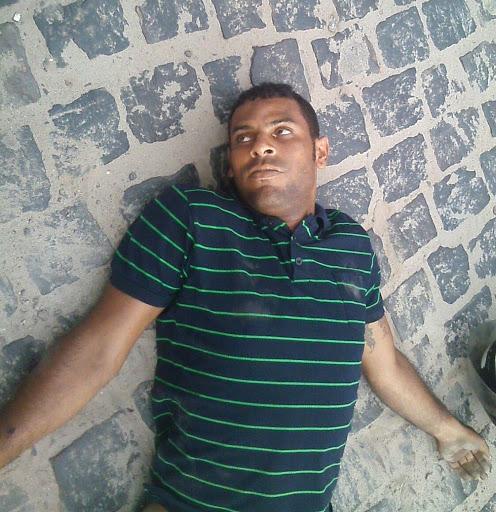 Sergio um dos assaltantes  mortos