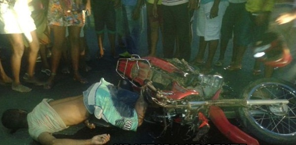 A vítima foi identificada como sendo Edson Fagundes dos Santos, 34 anos, residente na região da Serrinha,