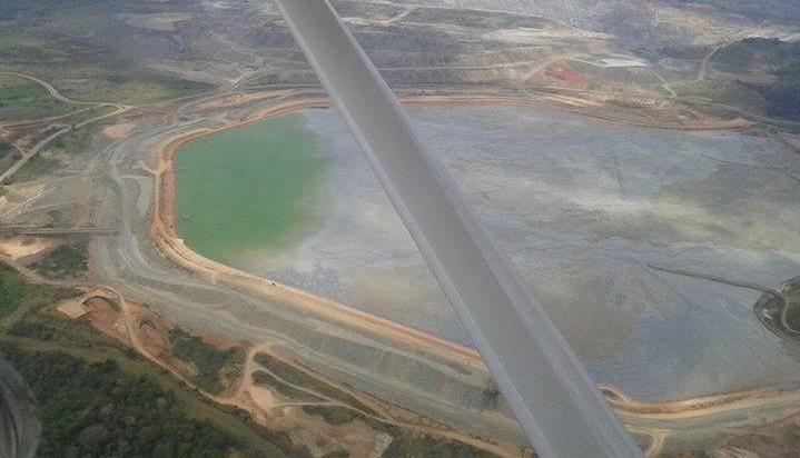Ocomplexo de mineração Santa Rita da Mirabela, em Itagibá, está classificada como C, o mesmo da barragem que rompeu em Mariana -MG e matou o Rio Doce