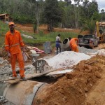 MARAÚ: OBRA NA RODOVIA  BR-030  VAI  MELHORAR ACESSO Á PENINSULA