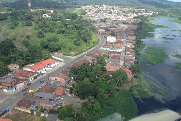 A cidade é banhada pelo Rio das Contas (Foto: H. Hugo)