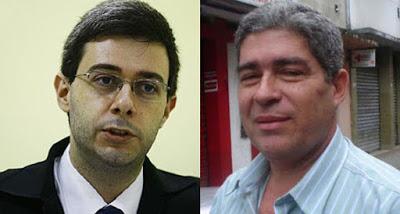 Miguel Cecerelli e Izael trocaram de Delegacia