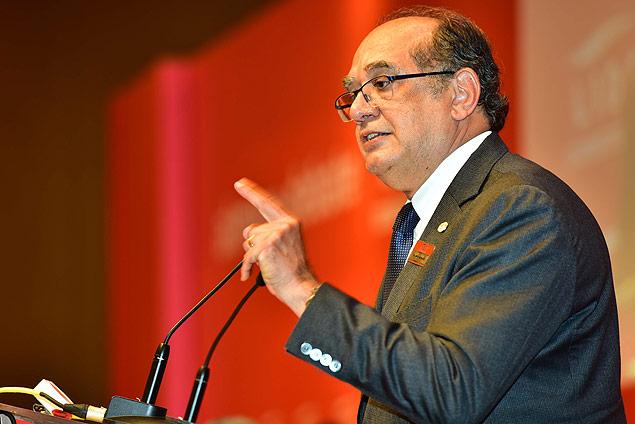 O Ministro do Supremo Tribunal Federal, Gilmar Mendes.