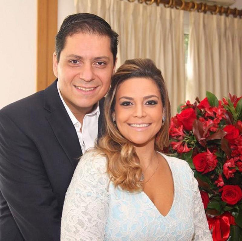 Daniel Maluhy, 37, estará no altar da tradicional Nossa Senhora do Brasil, uma das mais concorridas igrejas de São Paulo, à espera da noiva, Roberta Camargo,