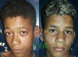 Um deles foi identificado como Esmeraldo Roque dos Santos, 18 anos.