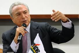 O vice-presidente Michel Temer está citado nas manifestações do ministro do Supremo Tribunal Federal (STF) Teori Zavascki,