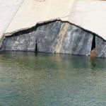 TRECHO DE CANAL DA TRANSPOSIÇÃO SE ROMPE EM PERNAMBUCO