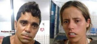Laise e José (Zezinho), estava em um veiculo suspeito