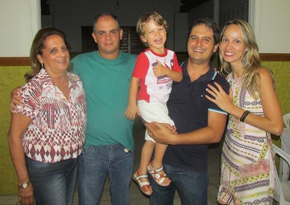 Dr. Marcio recebeu o  carinho da familia