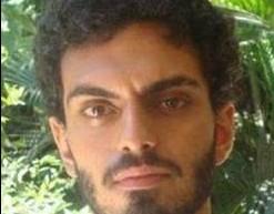Rian Brito. Neto do humorista Chico Anysio, o músico de 25 anos estava desaparecido havia nove dias.