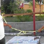 UBAITABA: INAUGURAÇÃO SIMBÓLICA DA PRAÇA FAZ PREFEITURA ACELERAR OBRAS
