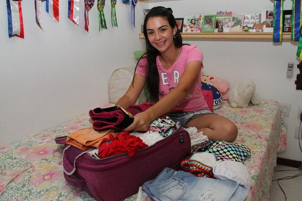 Renata Lima viaja com amigas e prefere se hospedar em pousadas (Foto: Evandro Veiga/CORREIO)