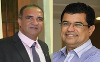 Jaílton e o deputado Davidson Magalhães estão confiantes na união