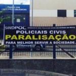 POLICIAIS CIVIS FAZEM PARALISAÇÃO DE 48 HORAS A PARTIR DESTA QUINTA