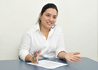 Prefeita Siméia Queiroz foi ameaçada e agredida (Foto: UN