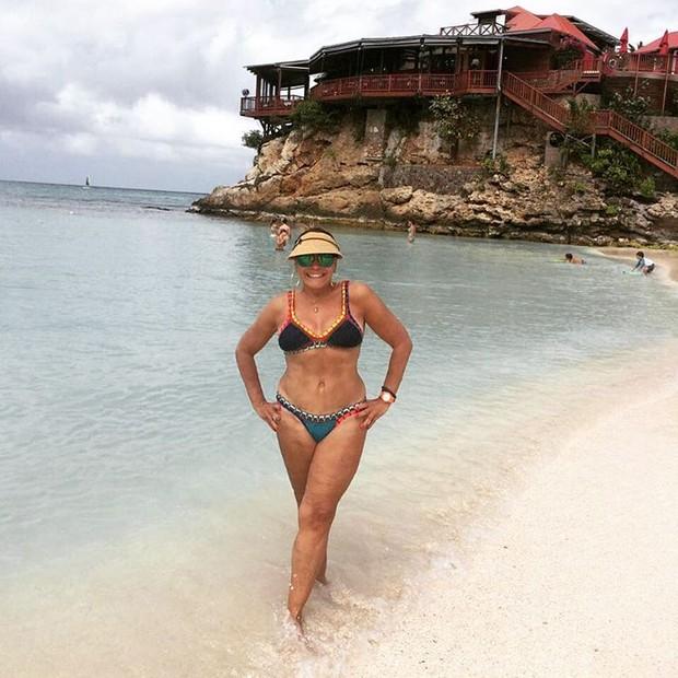 """Aos 73 anos, Susana Vieira surpreende fãs com corpão em foto de biquíni: """"diva"""" (Foto: Reprodução/Instagram)"""