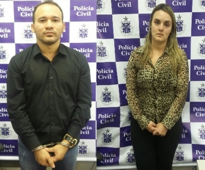 o cearense Antonio Josival Souza Magalhães e a pernambucana Rafaela de Azevedo Brito,