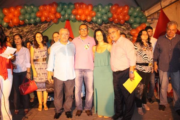 Josias Gomes, Lauro do PT, Liu Andrade e Rosemberg Pinto (Foto: Abimael Rirches)