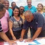 MARAÚ: PREFEITA AUTORIZA  CONSTRUÇÃO DE CRECHE EM BARRA GRANDE