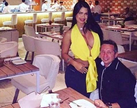 Milena postou foto ao lado do marido nesta terça