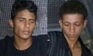 Alisson de Oliveira Santos, 20 anos, e Lucas Ricardo Santos Moreira, 18 (foto).